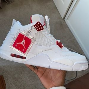 Jordan 4 Retro 'Metallic Red'